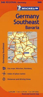 Michelin Germany Southeast Map 546 - Michelin