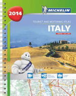 Italy 2014 A4 Spiral Atlas : Michelin Tourist and Motoring Atlas   - Michelin