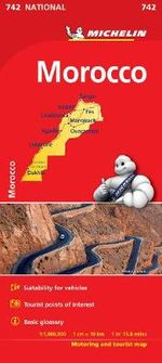 Morocco National Map 742 : Michelin National Maps - Michelin