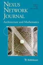 Nexus Network Journal : Architecture and Mathematics