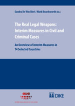 The Real Legal Weapons: Interim Measures in Civil and Criminal Cases : An Overview of Interim Measures in 14 Selected Countries
