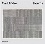 Carl Andre : Poems - Gavin Delahunty