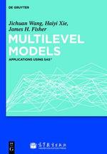 Multilevel Models : Applications Using SAS - Jichuan Wang