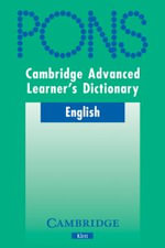 Cambridge Advanced Learner's Dictionary Klett Version : Klett Version