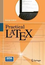 Practical LaTeX - George A. Gratzer