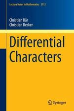 Differential Characters - Christian Baer