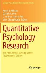 Quantitative Psychology Research : The 78th Annual Meeting of the Psychometric Society