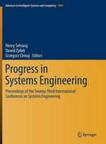 Progress in Systems Engineering : Proceedings of the Twenty Third International Conference on Systems Engineering