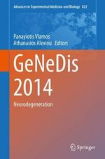 Genedis 2014 : Neurodegeneration