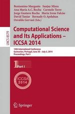 Computational Science and its Applications - Iccsa 2014 : 14th International Conference, Guimaraes, Portugal, June 30 - July 3, 204, Proceedings, Part I