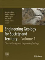 Engineering Geology for Society and Territory - Volume 1 : Climate Change and Engineering Geology