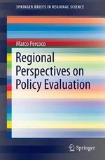 Regional Perspectives on Policy Evaluation - Marco Percoco