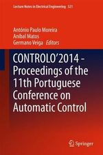 Controlo'2014 - Proceedings of the 11th Portuguese Conference on Automatic Control