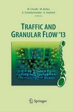 Traffic and Granular Flow '13