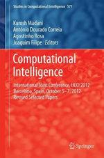 Computational Intelligence : International Joint Conference, IJCCI 2012 Barcelona, Spain, October 5-7, 2012