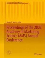 Proceedings of the 2002 Academy of Marketing Science (AMS) Annual Conference