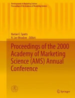 Proceedings of the 2000 Academy of Marketing Science (AMS) Annual Conference