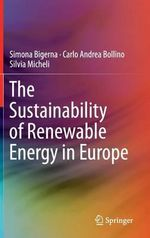 The Sustainability of Renewable Energy in Europe - Simona Bigerna