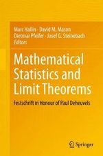 Mathematical Statistics and Limit Theorems : Festschrift in Honour of Paul Deheuvels