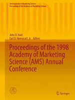 Proceedings of the 1998 Academy of Marketing Science (AMS) Annual Conference