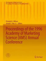 Proceedings of the 1996 Academy of Marketing Science (AMS) Annual Conference