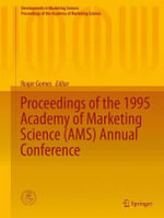 Proceedings of the 1995 Academy of Marketing Science (AMS) Annual Conference