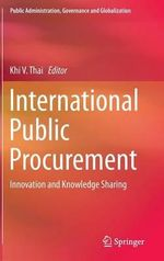 International Public Procurement : Innovation and Knowledge Sharing