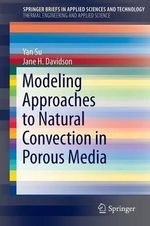 Modeling Approaches to Natural Convection in Porous Media - Dr Jane Davidson