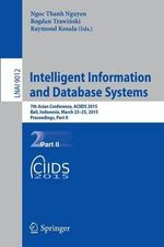 Intelligent Information and Database Systems : 7th Asian Conference, Aciids 2015, Bali, Indonesia, March 23-25, 2015, Proceedings, Part II