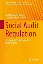 Social Audit Regulation : Development, Challenges and Opportunities