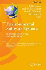Environmental Software Systems. Infrastructures, Services and Applications : 11th IFIP WG 5.11 International Symposium, ISESS 2015, Melbourne, Vic, Australia, March 25-27, 2015, Proceedings