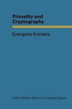 Primality and Cryptography - Evangelos Kranakis