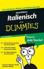 Sprachfuhrer Italienisch Fur Dummies Das Pocketbuch - Francesca Romana Onofri