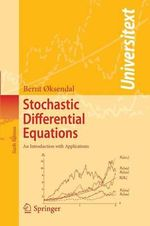 Stochastic Differential Equations : An Introduction with Applications - Bernt Oksendal