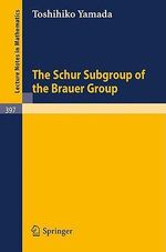 The Schur Subgroup of the Brauer Group : A Survey - T. Yamada