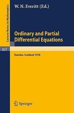 Ordinary and Partial Differential Equations :  Proceedings of the Fifth Conference Held at Dundee, Scotland, March 29-31, 1978