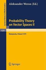 Probability Theory on Vector Spaces II : No. 2