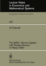 M/M Infinite Service System with Ranked Servers in Heavy Traffic - Gordon Frank Newell