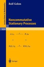 Noncommutative Stationary Processes - Rolf Gohm