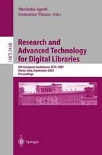 Research and Advanced Technology for Digital Libraries : 6th European Conference, ECDL 2002, Rome, Italy, September 16-18, 2002 Proceedings