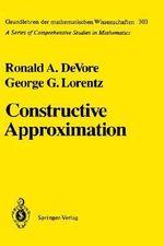 Constructive Approximation - R.A. DeVore