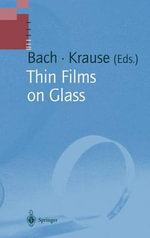 Thin Films on Glass : A Handbook