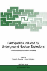 Earthquakes Induced by Underground Nuclear Explosions : Environmental and Ecological Problems : Biodiversity and Its Importance to Human Health