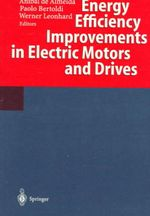 Energy Efficiency Improvements in Electric Motors and Drives