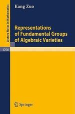 Representations of Fundamental Groups of Algebraic Varieties : Lecture Notes in Mathematics - K Zuo