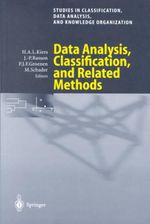 Data Analysis, Classification, and Related Methods : Proceedings of the 7th Conference on the International Federation of Classification Societies (IFCS-2000), University of Namur, Belgium, 11-14 July 2000 : Lea's Communication (Hardcover)