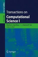Transactions on Computational Science : No. 1