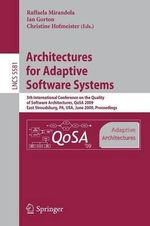 Architectures for Adaptive Software Systems : Lecture Notes in Computer Science