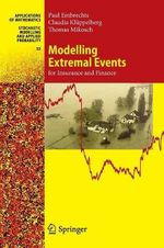 Modelling Extremal Events : for Insurance and Finance - Paul Embrechts