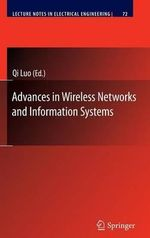 Advances in Wireless Networks and Information Systems : Lecture Notes in Electrical Engineering